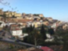 Cáceres von Süden her betrachtet.