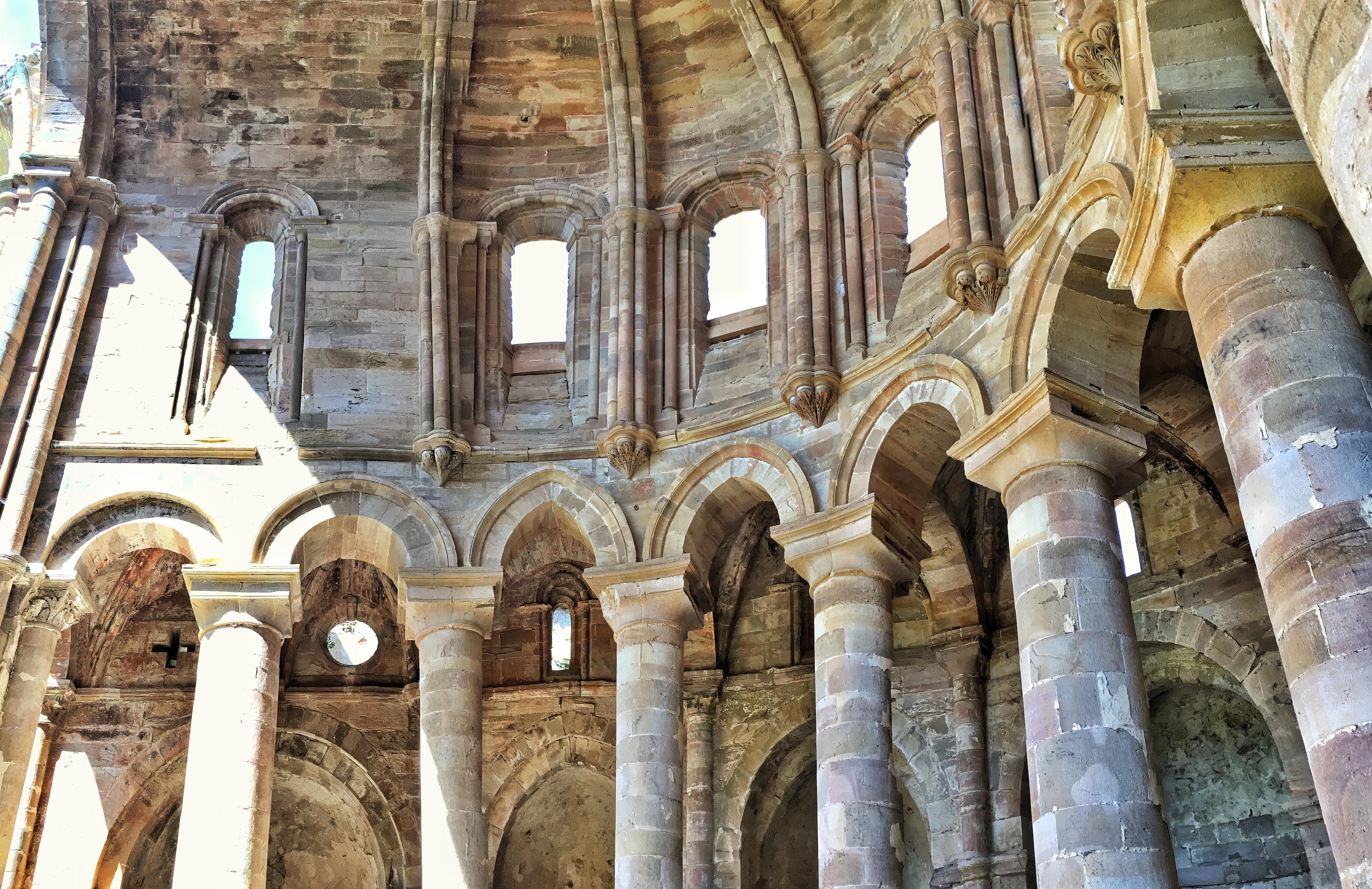 Die Ruinen des Klosters Moreruela