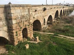 Die Römerbrücke über den Guadiana