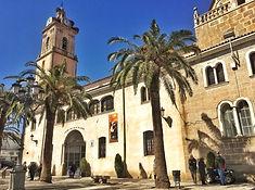 Die Pfarrkirche von Fuente