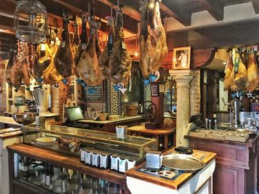 So schaut ein richtiges Restaurant in der Extremadura aus