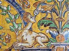 Azulejo, die Kunst der bemalten Fliesen