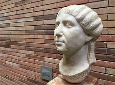 Frauenbüste im Museum für römische Kunst, Mérida