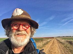 Pilgerbruder Werner auf der Via de la Plata