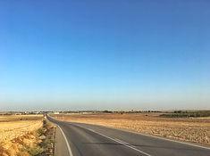 Die Landstrae nach Lebrija