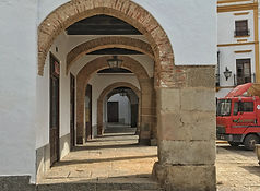 Arkaden in Zafra