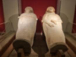 Phönizische Sarkophage in Cádiz