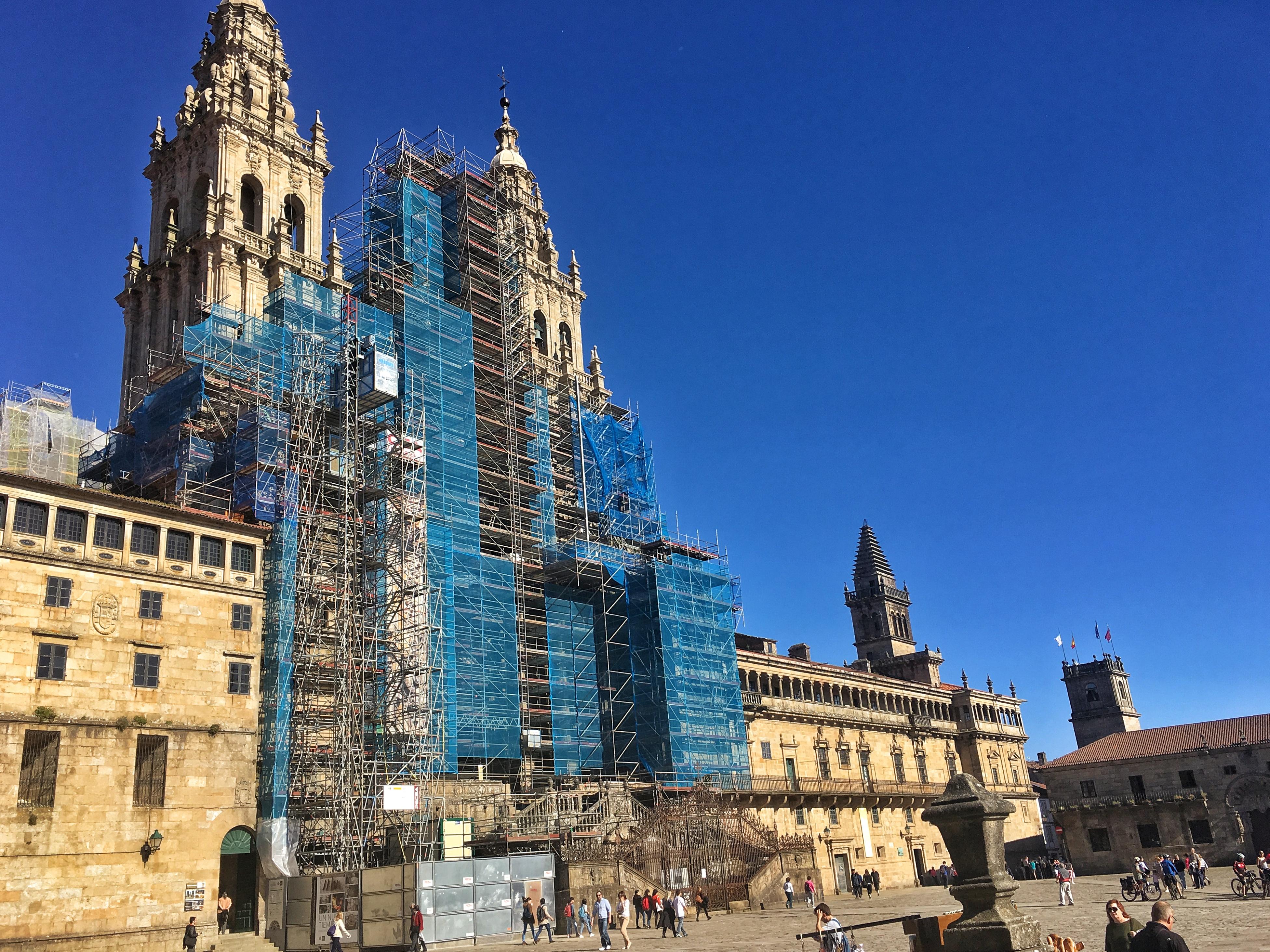 Die Kathedrale von Santiago