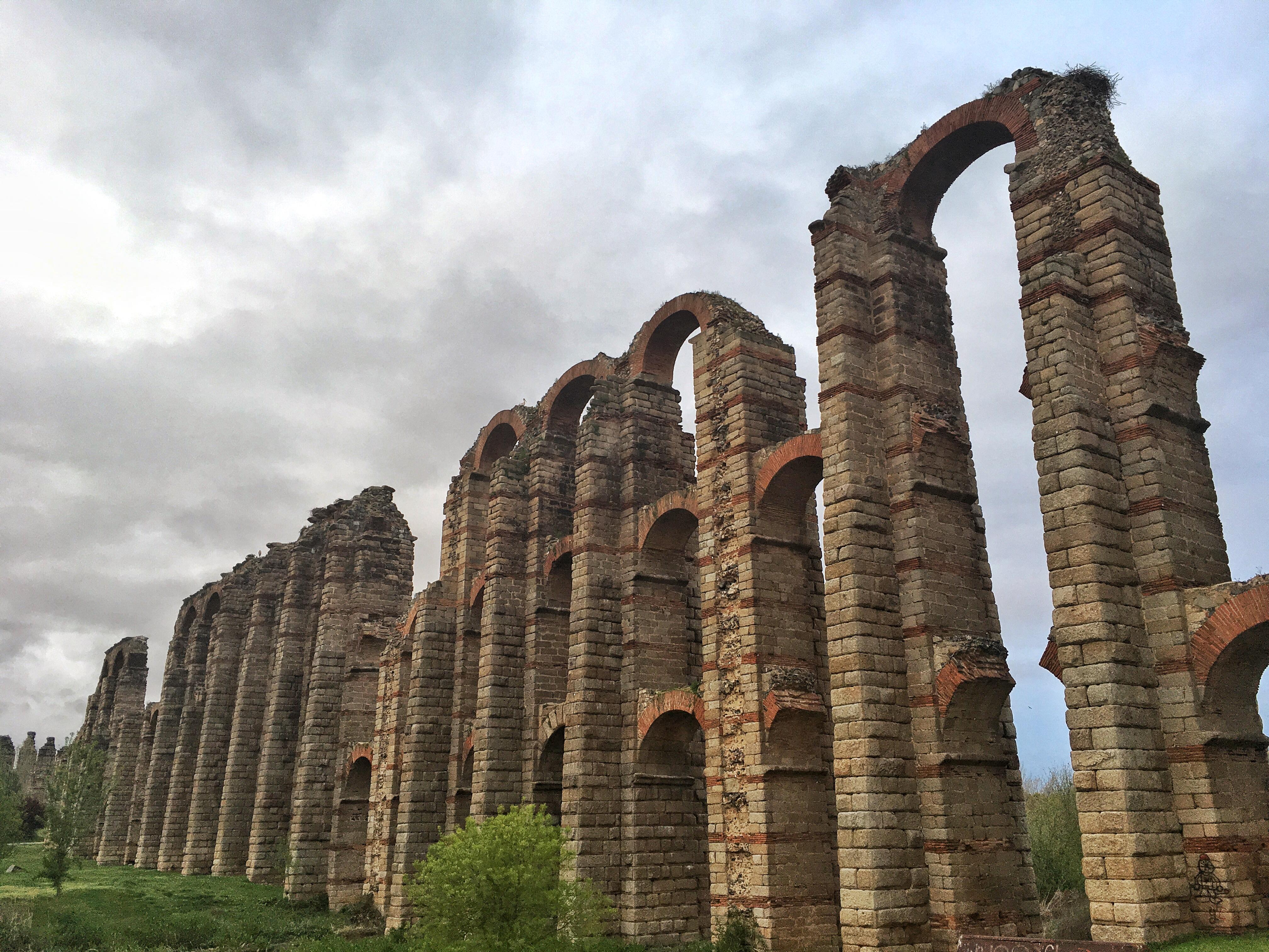 Los Milagros Aquädukt