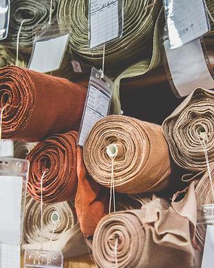 Rouleaux de soie