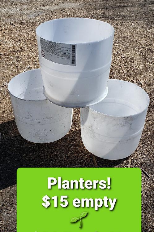 Bucket Planters