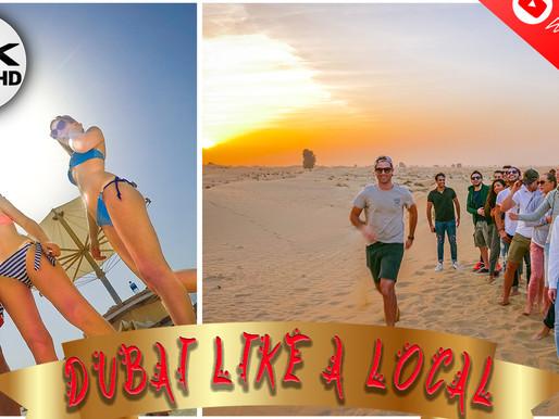 EXPLORING DUBAI ON A BUDGET 3/4 | Spend LESS: Desert Safari, Fairmont The Palm, Atlantis