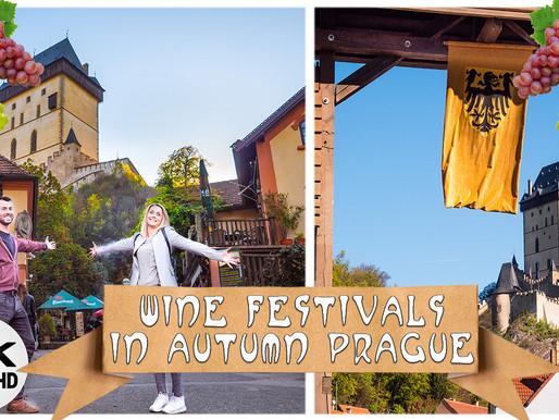 EXPLORING PRAGUE WINE FESTIVALS | What TO DO and Where TO GO? 4K