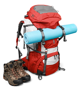 backpack trekking