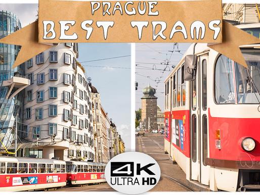 GET AROUND PRAGUE 2019 | BEST SCENIC TRAMS IN PRAGUE (4K UHD)