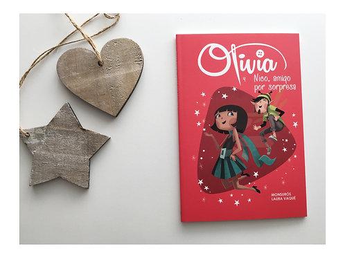 6. Olivia y Nico, amigo por sorpresa