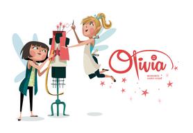 Olivia - Editorial - colección de cuentos