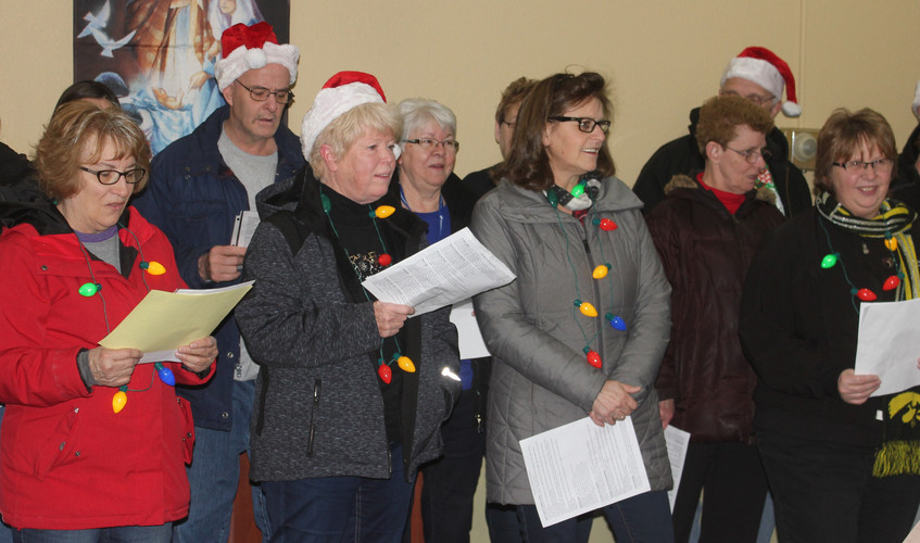 Denison Christmas Caroling Festivities -