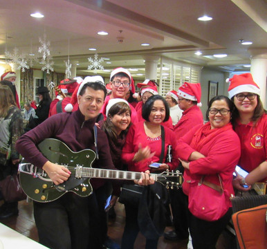 Carolers from St Joseph The Worker