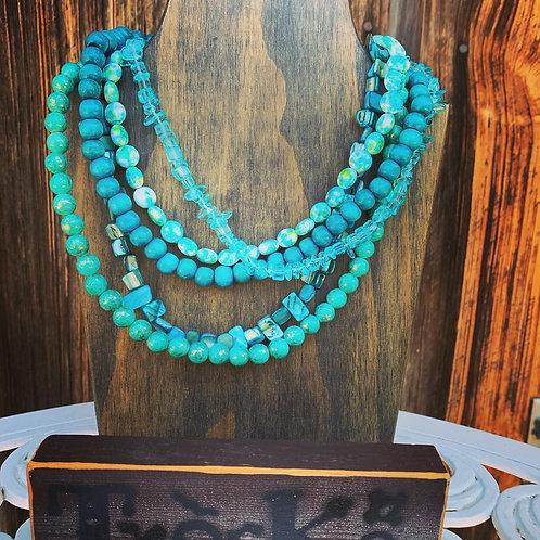 Treska - 5 Strand Necklace