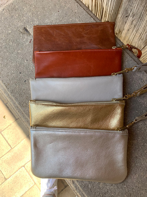 Satchel - Wristlet~Clutch (specify color choice)