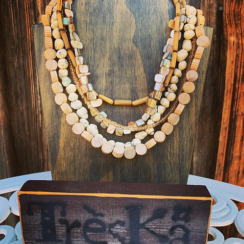 Treska - 5 Strand Necklace