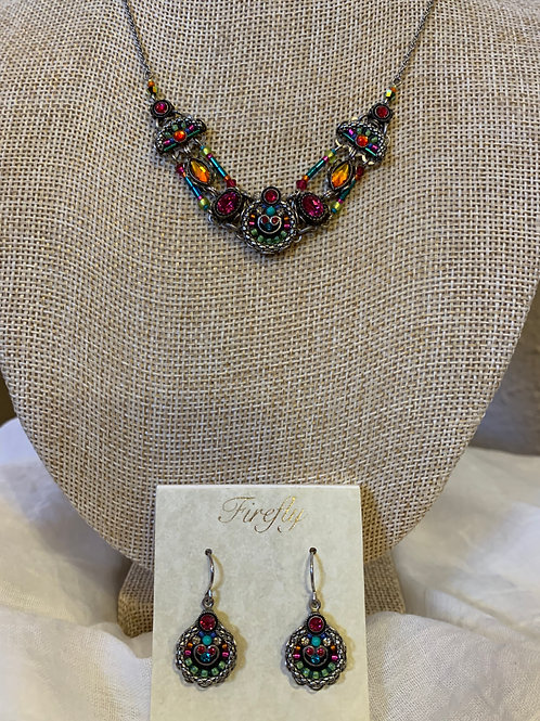 Firefly - Mosaic Necklace