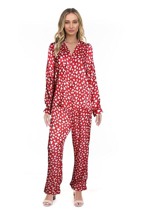 Tolani - Hearts Pajama Set