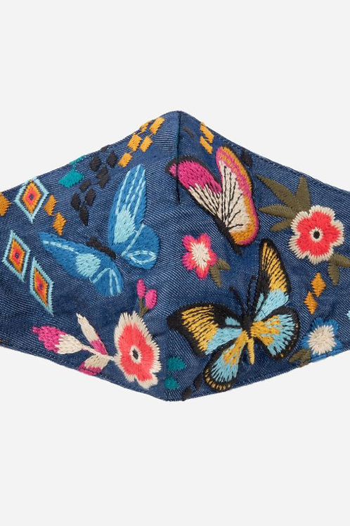 Johnny Was - Embroidered Masks