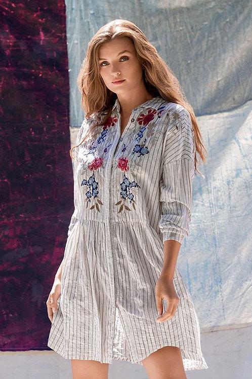 Johnny Was~Workshop - Palmyra Shirt Dress