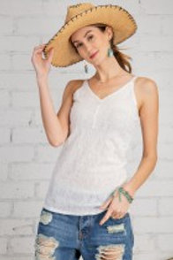 Sweet Lace Cami Tunic