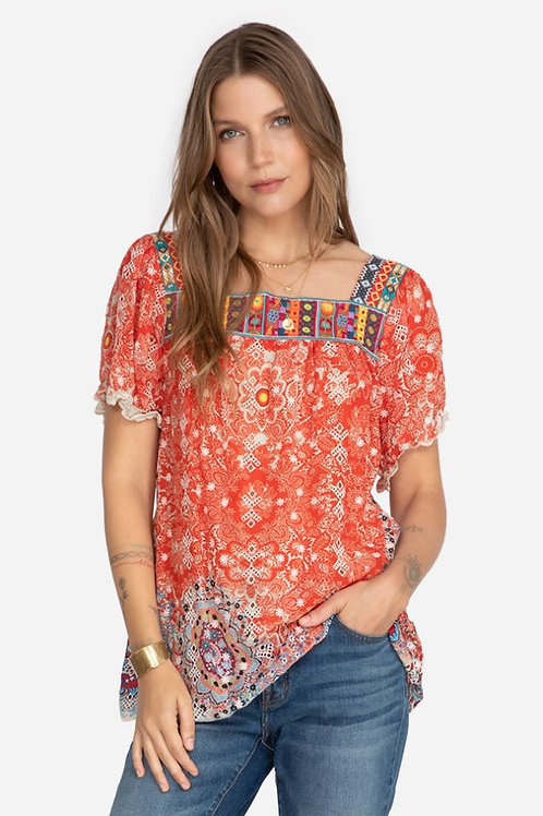 Johnny Was Collection - Pansy Blouse