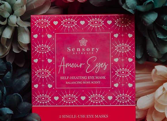 Amour Eyes Self Heating Eye Masks - 5 single use masks