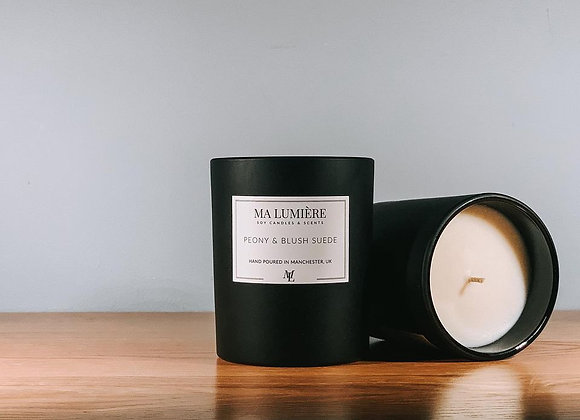 Soy Candle - Peony & Blush Suede
