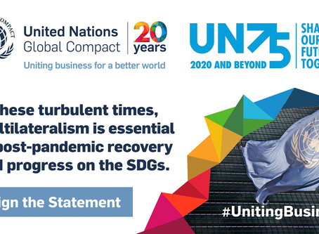 Stepping forward for the #GlobalGoals