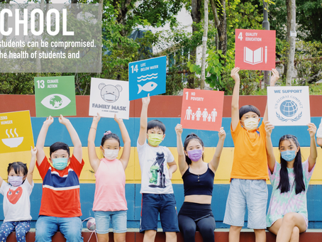 #UN75 Dialogue - Family Mask and its #BackToSchool Initiative for Global Goals Week 2020