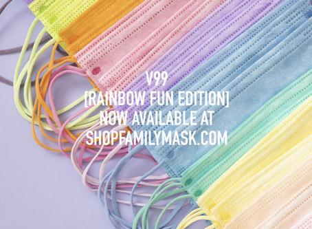 Introducing V99 Rainbow Fun Edition