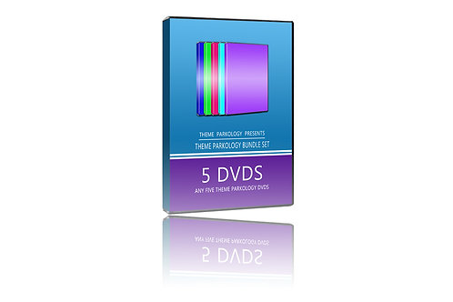Theme Parkology Bundle: 5 DVDs