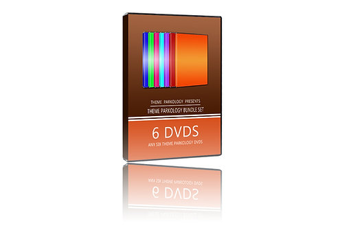 Theme Parkology Bundle: 6 DVDs