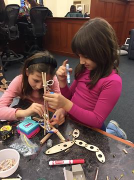 Roda de Invenções na Biblioteca do Teachers College 2017