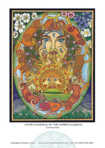 PG37 Ēostre Goddess Of The Spring Equinox