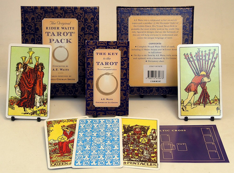 Ryder Wait Tarot With Book