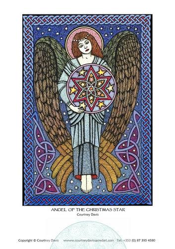 PA06 Angel Of The Christmas Star