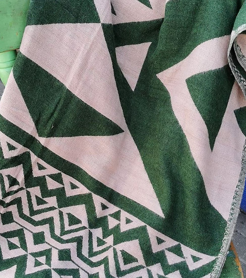 YK16 TIBET handloom Yak wool shawls 100x200 cms