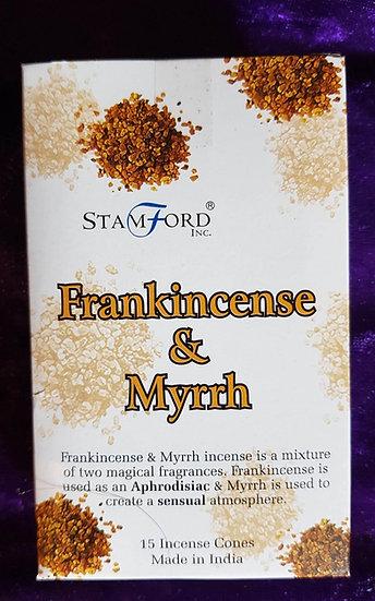 Frankincense and Myrrh Cones