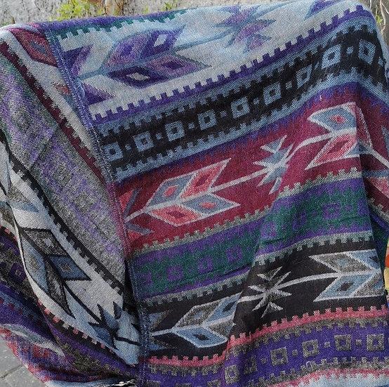 YK15 TIBET handloom Yak wool shawls 100x200 cms