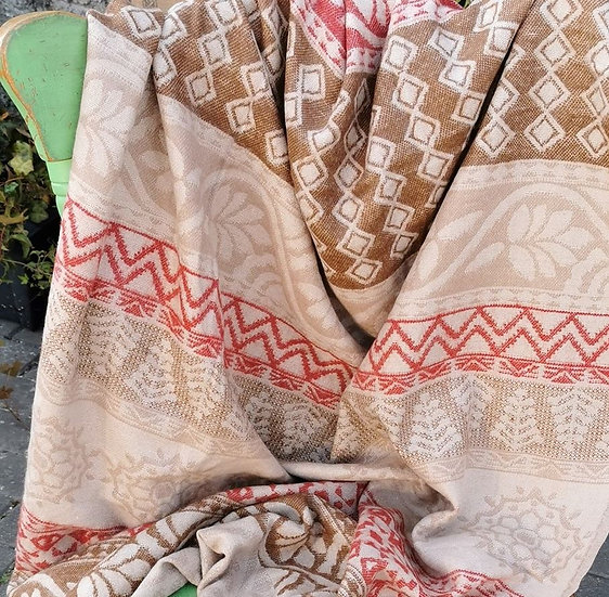 YK03 TIBET handloom Yak wool shawls 100x200 cms