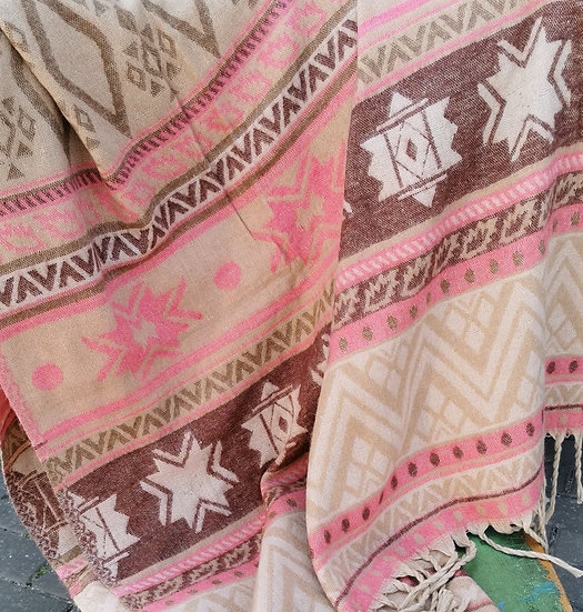 YK13 TIBET handloom Yak wool shawls 100x200 cms