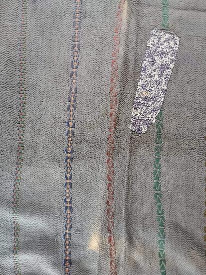 007 Indian Cotton patchwork Quilt Bedspread