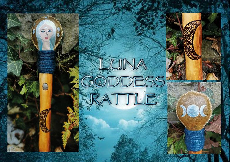 Luna Goddess Rattle